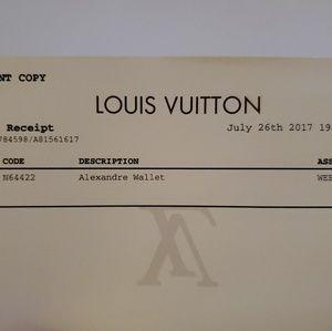Louis Vuitton Bags - Louis Vuitton Alexandre Wallet (Rare)